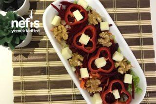 Antioksidanlı Doyurucu Pancarlı Salata Tarifi