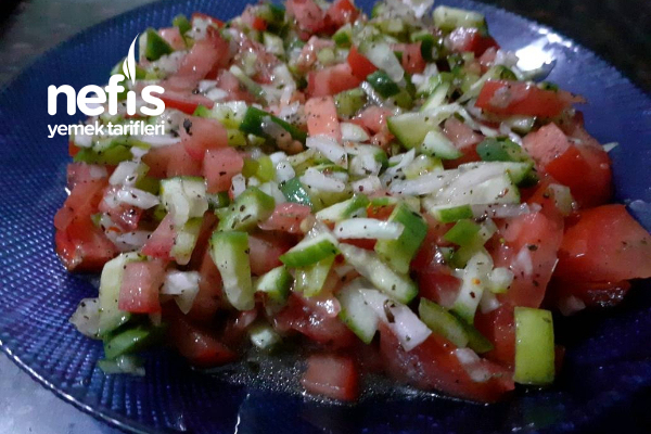 Baharatlı Salata Tarifi