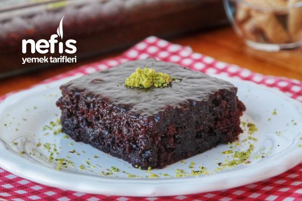 Browni Tadında Islak Kek (videolu) Tarifi