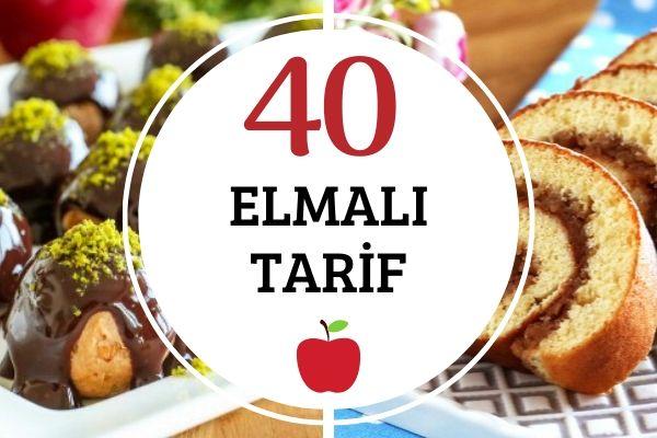 Elmalı Tarifler: Kurabiyeden Turtaya 40 Çeşit Tarifi