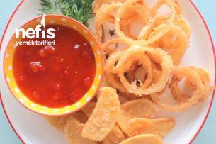 Parmesanlı Çıtır Patates Ve Soğan Halkaları Tarifi