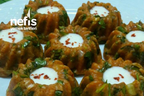 Patatesli Bulgurlu Köfte (Muhteşem) Tarifi