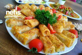Patatesli – Susamlı Börek (Unlu Sosuyla Hazır Lezzetinde) Tarifi