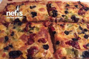Siyez Unlu Pizza Tarifi