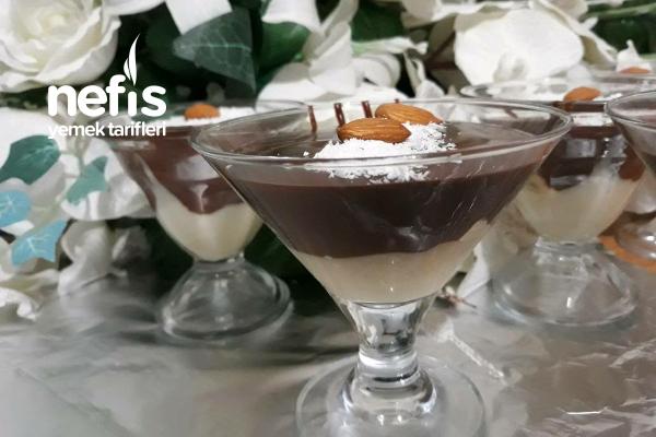 Kıvamı İle Mükemmel Çikolatalı Muhallebi Tarifi
