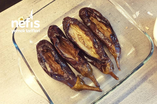 Yağsız Patlıcan Kızartma (Çok Amaçlı) Tarifi
