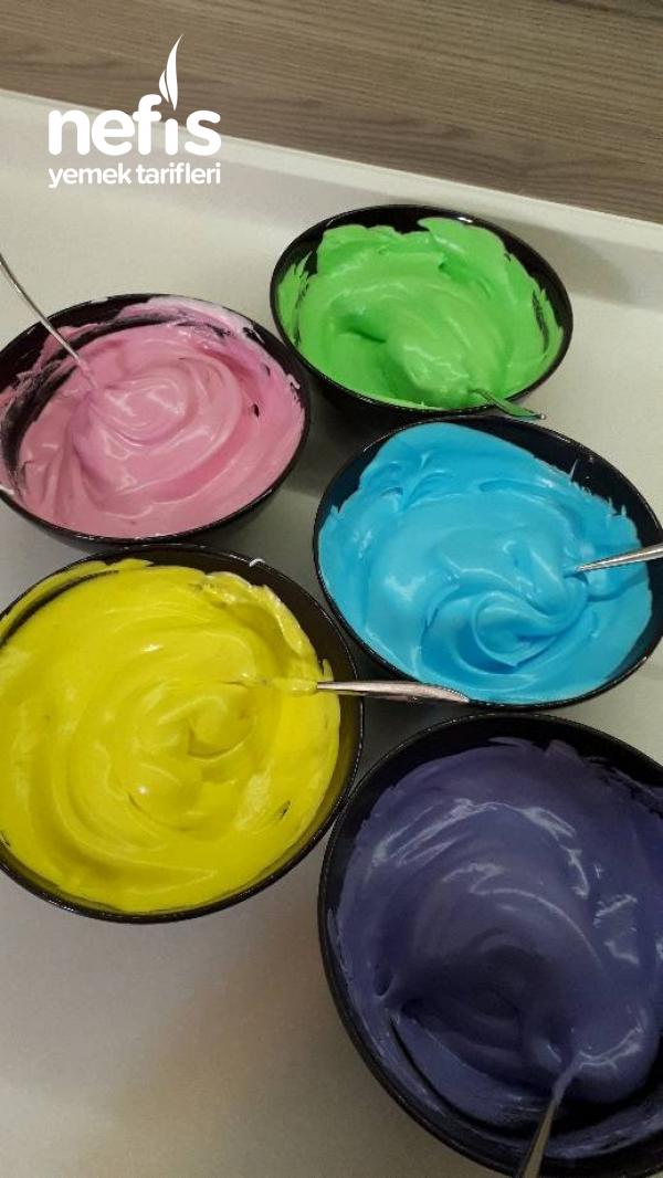 Çatlamayan Renkli Bezeler