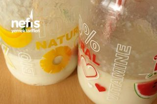 Çocuklar İçin Muzlu Ballı Süt Tarifi