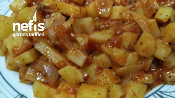 Lezzetli Patates Yemeği