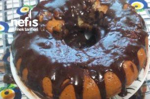 Muzlu Çikolata Soslu Kek Tarifi