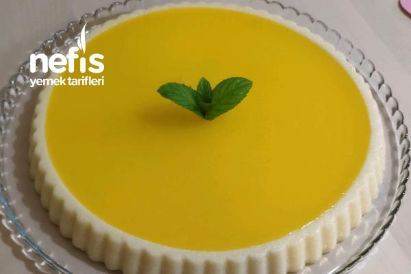 Tart Kalıbında Limonlu İrmik Tatlısı Tarifi