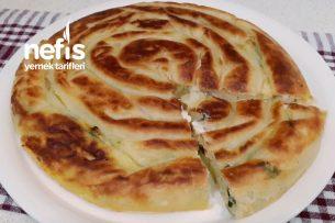 Akşam Hazırla Sabah Pişir 2 Yufkayla Tava Böreği (Videolu) Tarifi