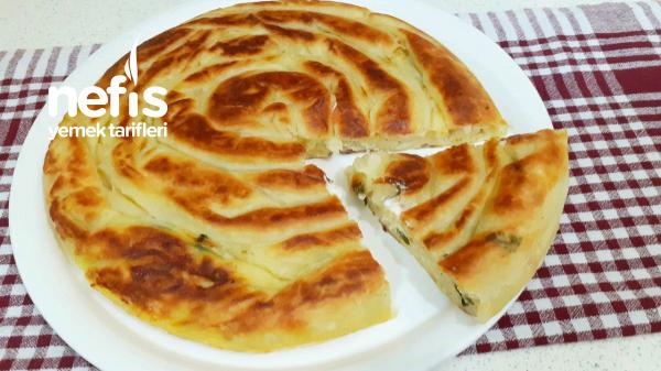 Akşam Hazırla Sabah Pişir 2 Yufkayla Tava Böreği(Videolu)