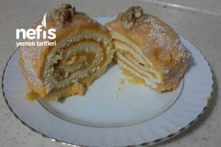 Balkabaklı Rulo Pasta (Videolu) Tarifi