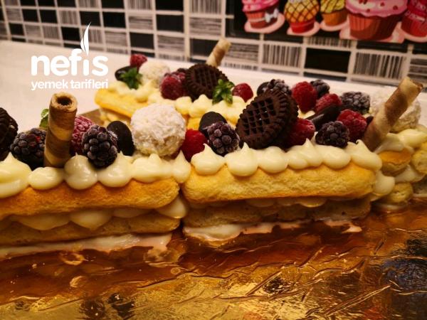En Kolay En Pratik Şekilde Hazırlanan Harf Pasta (Videolu)