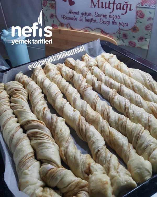 Haşhaşlı Burma Çörek