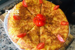 Kahvaltıya Tavada Patatesli Börek Tarifi