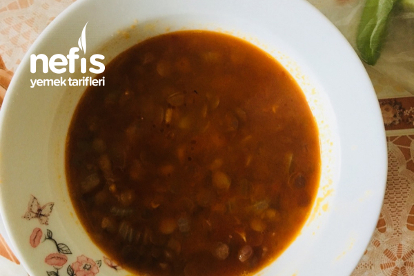 Patatesli Yeşil Mercimek Çorbası Tarifi