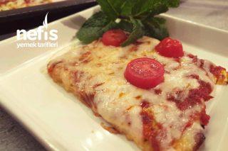 Tamamen Unsuz Harika Pizza, Böylesini Hiç Görmediniz (Low Karb) Tarifi