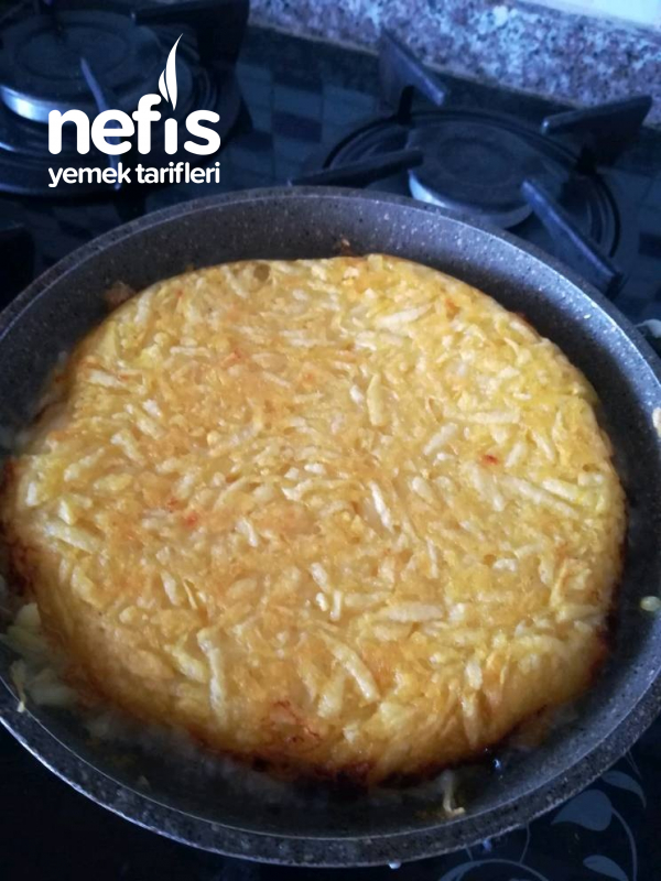 3 Malzemeyle Patates Böreği(tavada)
