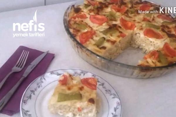 Börek Kıvamında Fırın Makarna (Videolu) Tarifi