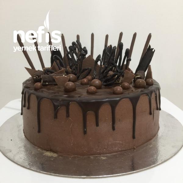 Çikolata Bombası Çikolatalı Pasta
