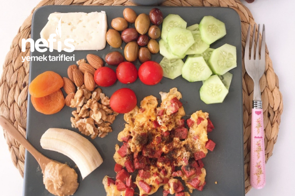 Diyet Kahvaltısı Tabağı Tarifi