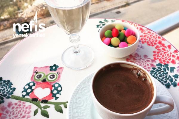 Kahve Sunumum 2 Tarifi