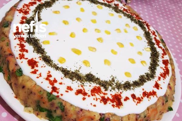Kokoş Patates Salatası Tarifi