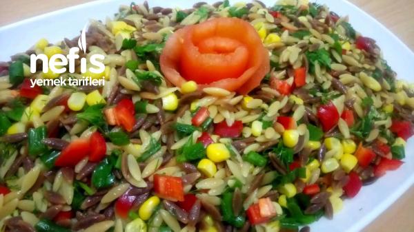 Tadına Doyum Olmayan Arpa Şehriye Salatası
