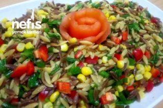 Tadına Doyum Olmayan Arpa Şehriye Salatası (Videolu) Tarifi