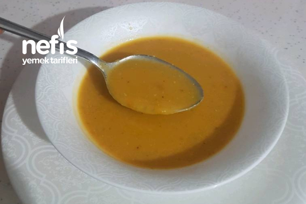 Vitamin Deposu Mercimek Çorbası Tarifi