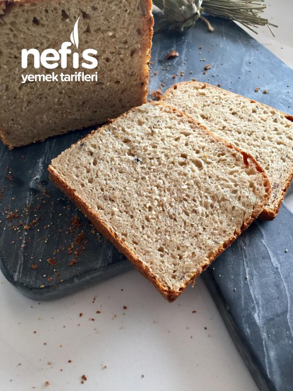 Ekşi Mayalı Tam Buğday Unlu Tost Ekmeği