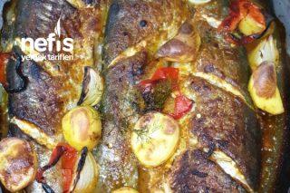 Fırında Baharatlı Sebzeli Balık Tarifi