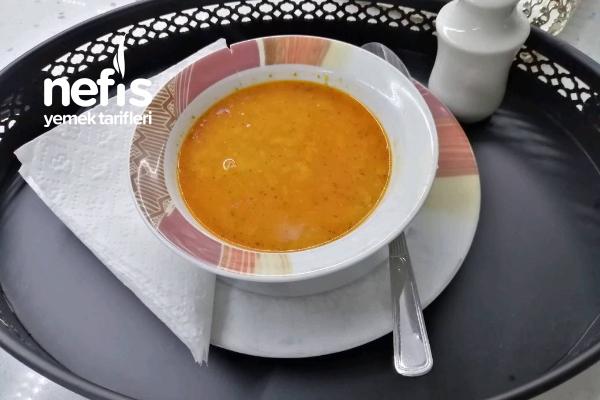 Mercimekli Pirinç Çorbası Tarifi
