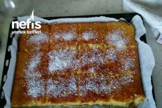 Sadece Mısır Unuyla Yumuşacık Kek (Yumurtasız) Az Malzemeli Tarifi