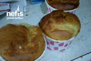 Glutensiz Unla Gül Reçelli Muffin Tarifi