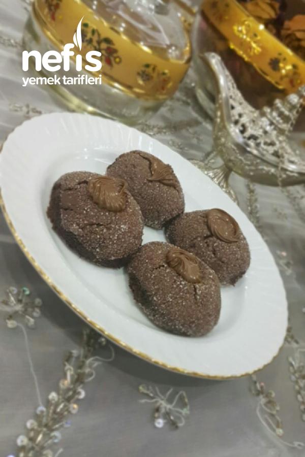 Ağısda Dağılan Nutellalı Kurabiye
