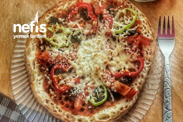 Sabah Kahvaltılarının Vazgeçilmez Bazlamadan Pizzası Tarifi