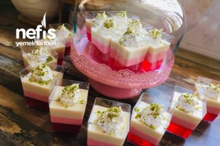 Süt Reçeli Muhallebi Tarifi