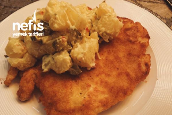 Viyana Usulü Şinitzel Ve Patates Salatası Tarifi
