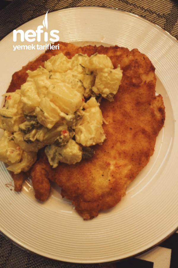 Viyana Usulü Şinitzel Ve Patates Salatası