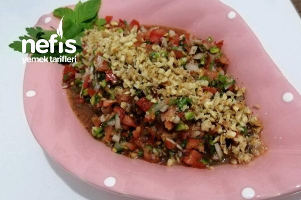 Antep Usulü Gavurdağı Salatası Tarifi