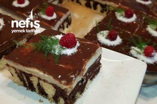 Çikolatalı Muhallebili Kek (Mutlaka Deneyin) Tarifi