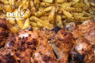 Efsane Lezzet Fırında Tavuk Patates Tarifi
