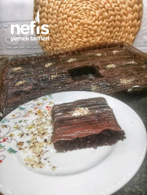 Kakaolu Şantili Ağlayan Pasta(kesin Ölçülüdür)