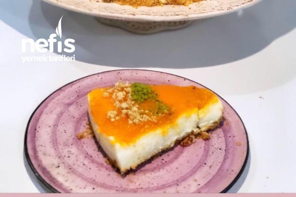 Muhallebili Bal Kabağı Pastası Tarifi