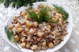 Tavuk Suyuna Şehriyeli Nohutlu Pirinç Pilavı Muhteşem Tarifi