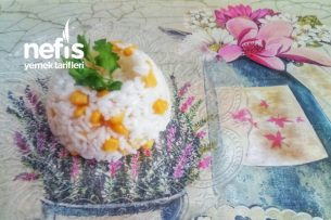Tereyağsız Mısırlı Tam Ölçü Pirinç Pilavı Tarifi