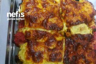 Patlıcanlı Püreli Tavuk Kebap Tarifi